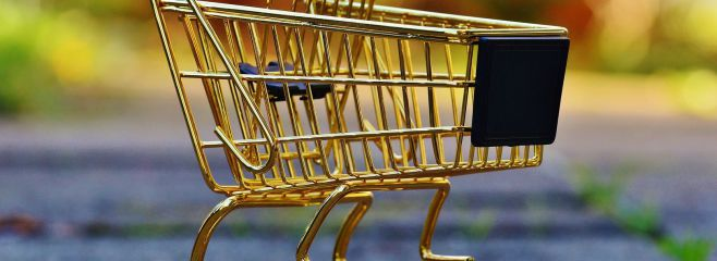 goldener_Einkaufswagen